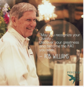 Message from Rob Williams
